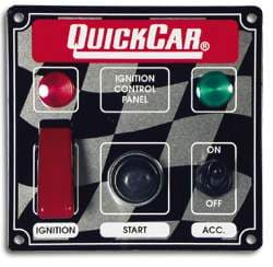QUICKCAR IGNITION CONTROL PANELS-W/ ACCESSORY & LITES