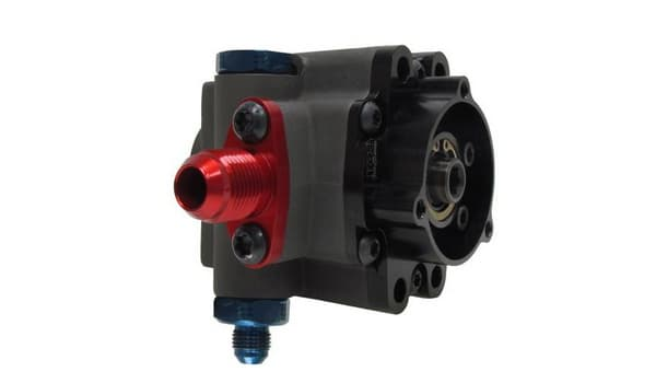 9.6CC PRO SERIES PUMP DOWNWARD OUTLET FITTING WITH PTO AND WITHOUT PULLEY