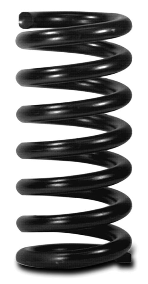 AFCO RACING PRODUCTS Coil Spring, Conventional, 5.5 in OD, 9.500 in Length, 1100 lb/in Spring Rate, Front, Black Powder Coat, Each