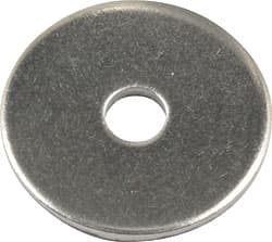 STEEL BACK UP WASHERS 3/16 LARGE 1/2 O.D.