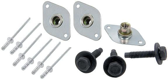 "CTS WHEEL MUD COVER BOLT ON CONVERSION KIT-Kit To Replace 1"" Quick Turn Springs"