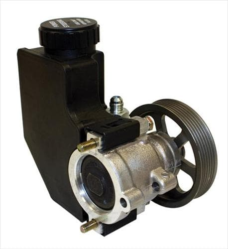 CTS POWER STEERING PUMP WITH RESERVOIR AND SERPENTINE PULLEY