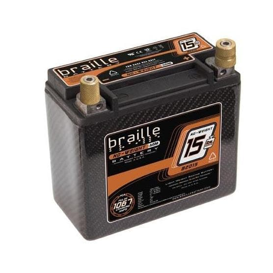 Braille Battery B2015C- Carbon Fiber Batteries
