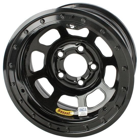 "BASSETT 15"" D-HOLE IMCA LIGHTWEIGHT BEADLOCK WHEELS"