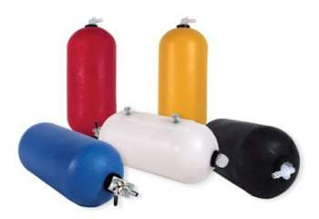 COLORED RADIATOR OVERFLOW BOTTLES WITH PET COCK
