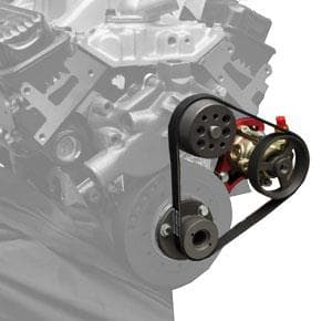 BICKNELL GM Crate 602 Block Mount Serpentine Power Steering Kit 17% Reduction