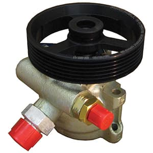 BICKNELL POWER STEERING PUMP with 4.250 Inch 6 Rib Serpentine Power Steering Pulley