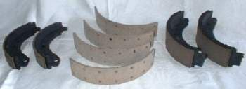 EGR BRAKES Carbon Kevlar molded and bonded Brake Shoes.