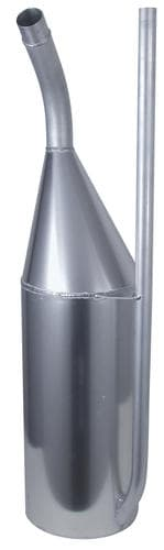 CTS FUEL DUMP CAN 11 GALLON MILL FINISH