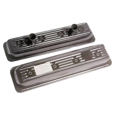CTS GM Crate Motor Valve Covers-Black, 602 & 604