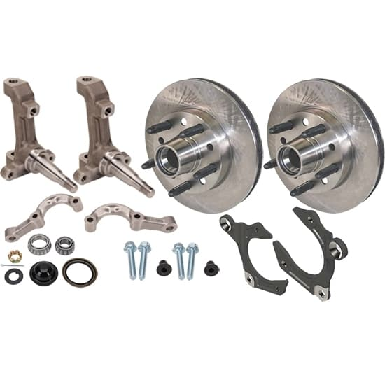 CTS IMCA Short Arm 3-Piece Spindle With Wilwood Rotor Kit