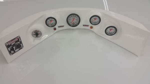 CTS FIBERGLASS LATE MODEL AND MODIFIED GAUGE PANEL, DASH PANEL WITH GAUGES