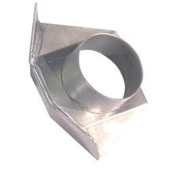 CTS RIGHT HAND SINGLE BRAKE DUCT