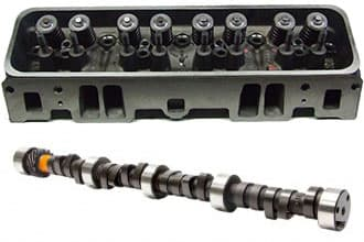 "CTS 602 Crate Cheater Head & Cam Shaft with ""Under Cover Porting""-Port and Regrind Special"