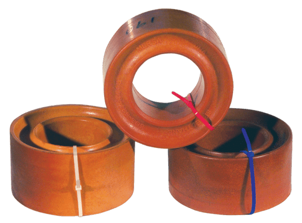 SPEEDTHANE SPRING RUBBERS FOR CONVENTIONAL BIG SPRING-DOUBLE GROOVE