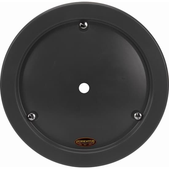 High Impact Plastic Rim Cover-Mud Plugs-SMOOTH STYLE BLACK