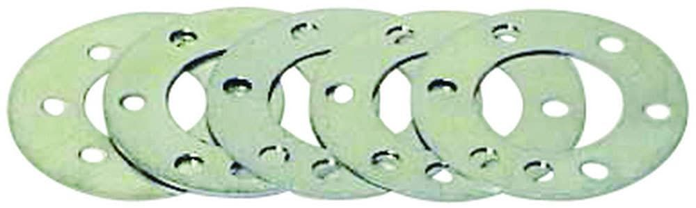 QuickTime Flexplate Spacer-GM 1974-1985, 1Pc Rear Seal, 0.030, 0.035, 0.046, 0.056 and 0.073 in Thick, 4.600 in OD, 2.493 in ID Center Hole, Steel, Zinc Oxide, GM, Kit