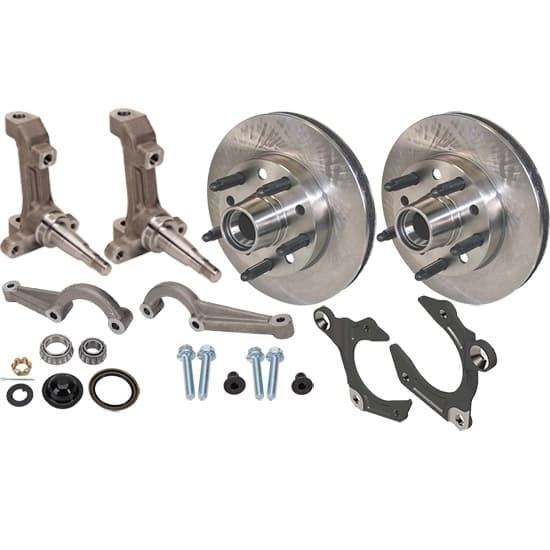 CTS IMCA 3-Piece Metric Spindles with Wilwood Rotors Kit