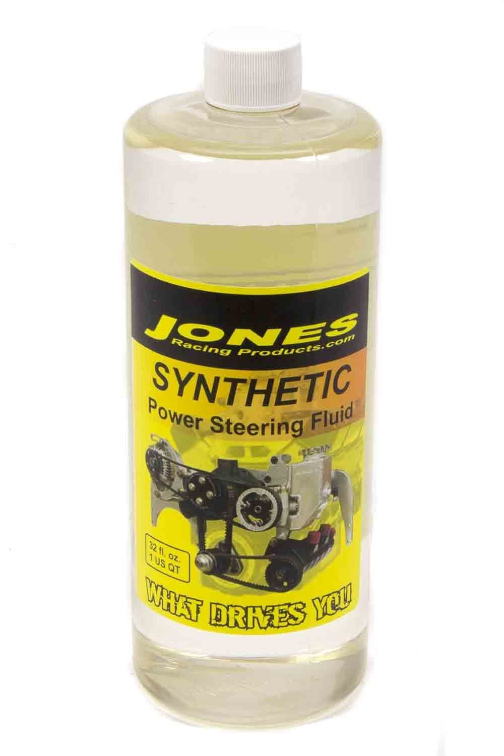 Jones Racing Sweet Synthetic Power Steering Fluid, 32 oz.