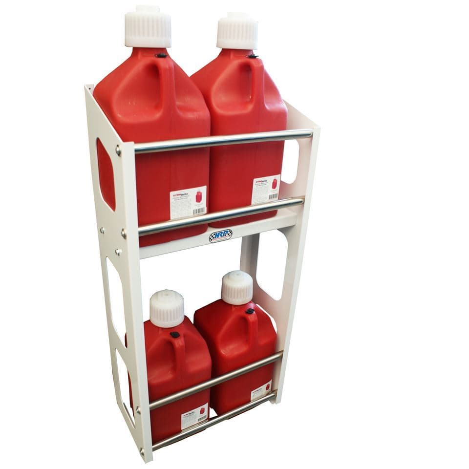 Jug Rack, Two Level, Holds Up To 8 Jugs, White