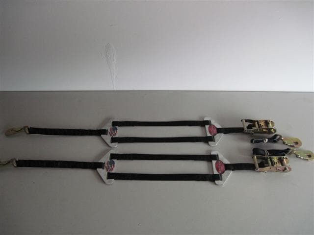 Plattinum Products Junior Dragster Tie Down Straps-Pair- Made in USA