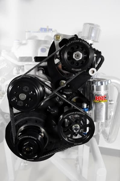KRC Asphalt Late Model Crate Engine Kit (Left Side Alternator and Power Steering Mounts)