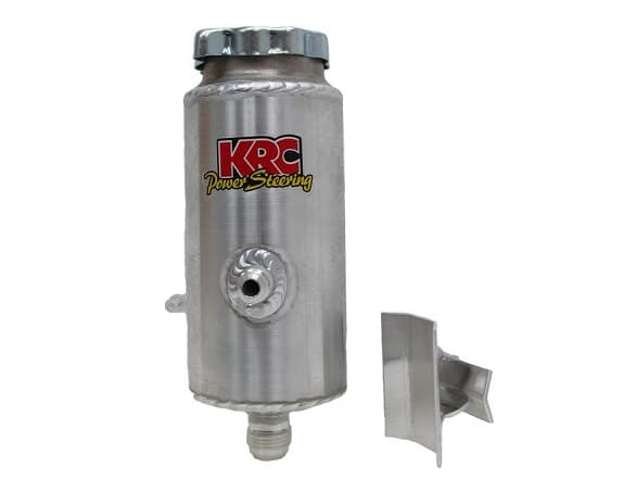 KRC POWER STEERING RESERVOIR TANK ROUND ECONOMY WITH BRACKET