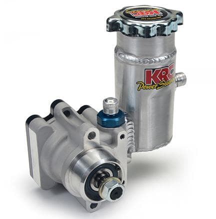 KRC PRO SERIES III PUMP 5.9CC WITH 17 SPLINED, THREADED SHAFT FOR PULLEY, AND KRC BOLT ON TANK