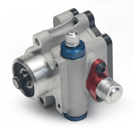 KRC PRO SERIES III PUMP 9.6CC 17 SPLINE DRIVE AND PTO FUEL PUMP OUTPUT USED FOR DRY SUMP PUMP