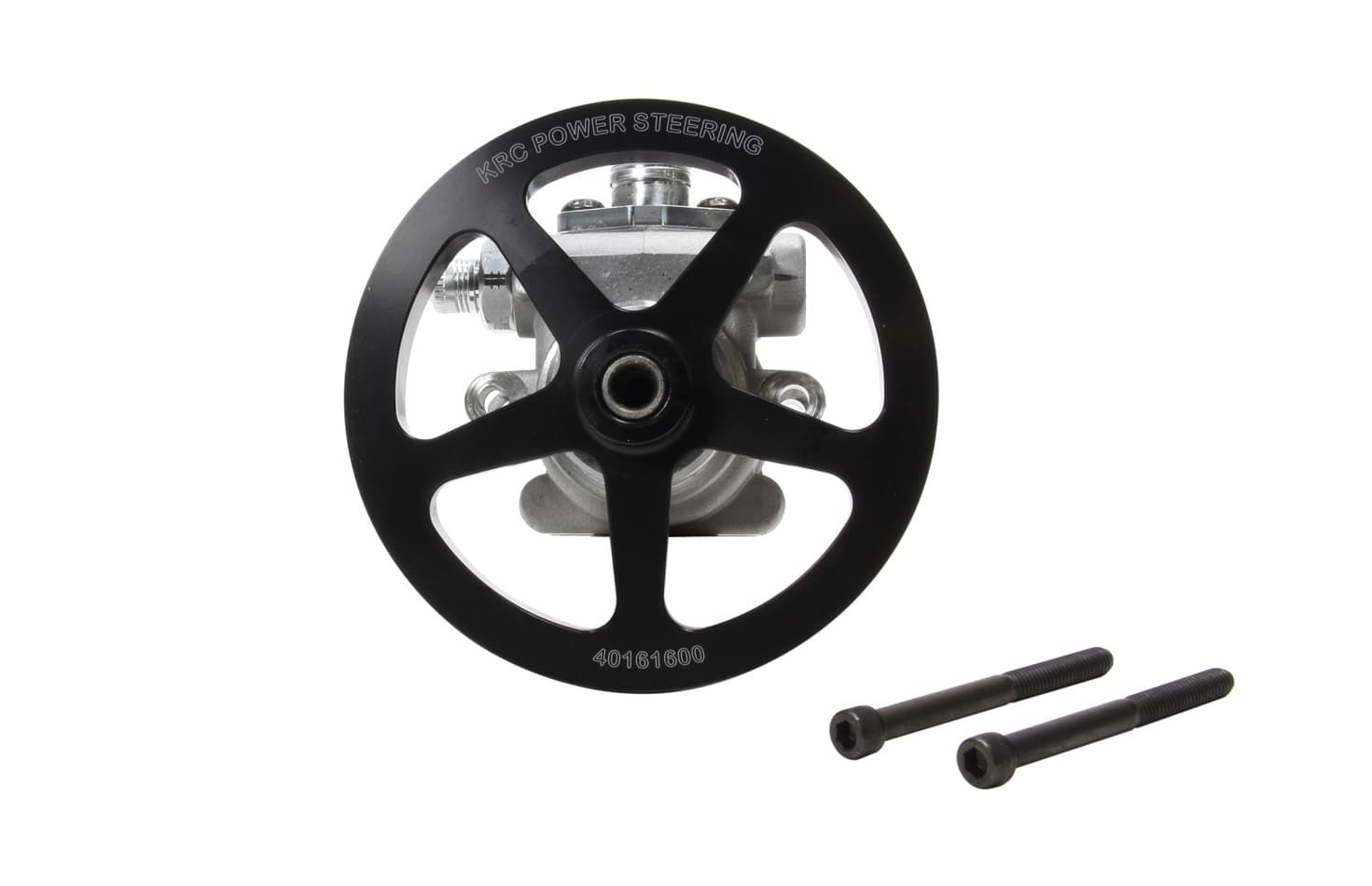 KRC-P/S PUMP ELITE With out  RES Power Steering Pump with 6.0 V-pulley