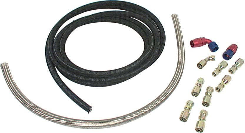 Power Steering Hose Kits -Kit For Rack And Pinion Steering