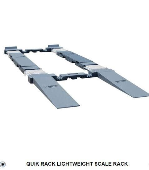 INTERCOMP QUIK RACK LIGHTWEIGHT SCALE RACK