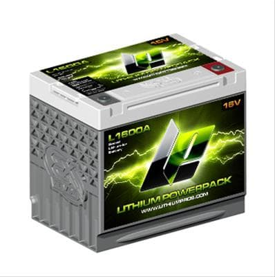 LITHIUM PROS-XS Power L1600A Lithium Powerpack Battery
