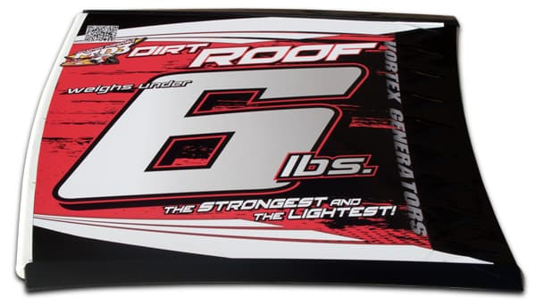 MD3 Roof Dirt Late Model with Roof Cap