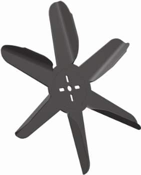 TEXAS TWISTER NYLON ENGINE DRIVEN FAN BLADES, 8000 RPM