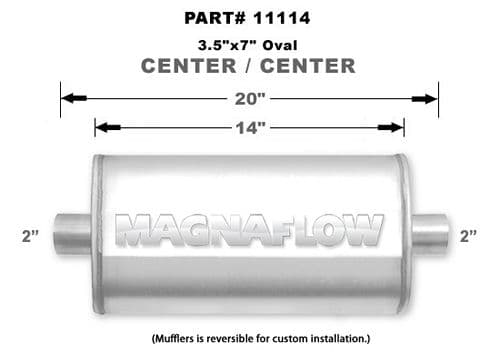 Magnaflow Performance Exhaust - MAG11114