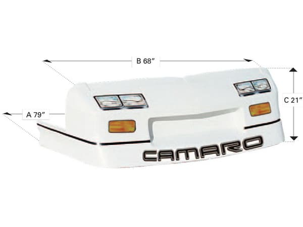 NOSE PIECE OR BUMPER COVER - 92 IROC-Z