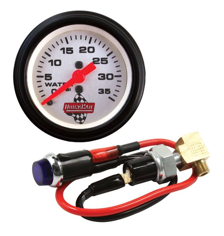 QUICK CAR Quick-Light Water Pressure Kit with Gauge