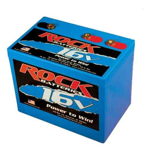 ROCK RACING BATTERY, 16 VOLT- TWO OR THREE POST (16v & 12v)