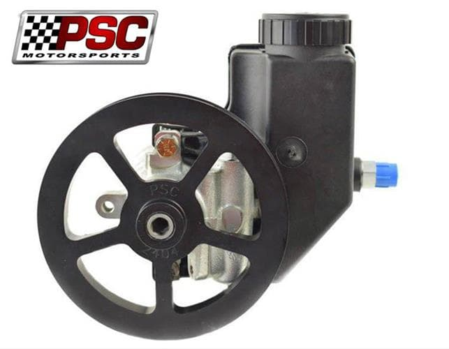 CTS POWER STEERING PUMP WITH RESERVOIR AND V PULLEY