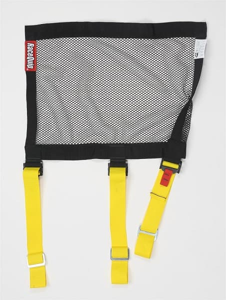 RaceQuip Window Safety Mesh Net SFI 27.1 With Strap Mounts