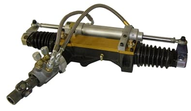 Coleman Rack And Pinion With Servo and Dual Action Slave