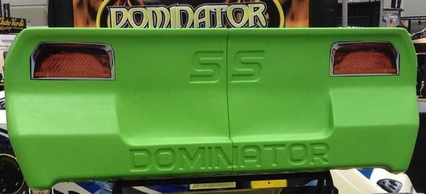 DOMINATOR STREET STOCK TAIL BUMPER