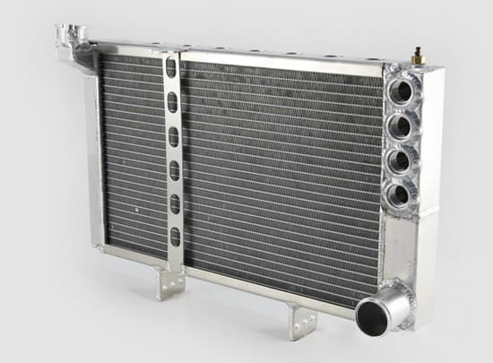 FSR Racing Products Sprint Car Engine Mount Radiator