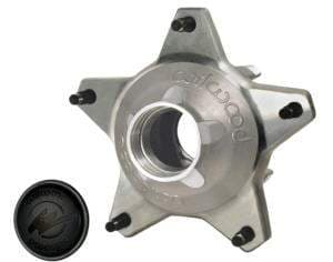 """HUB,STARLITE FRONT WITH SNAP CAP STANDARD OFFSET, 5/8"""" COURSE STUDS"""