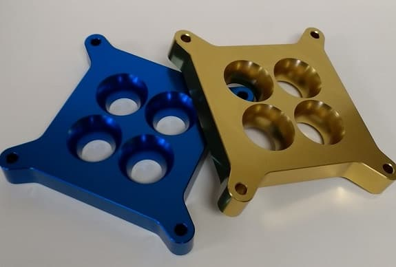 WILLY'S ANODIZED RESTRICTOR PLATES