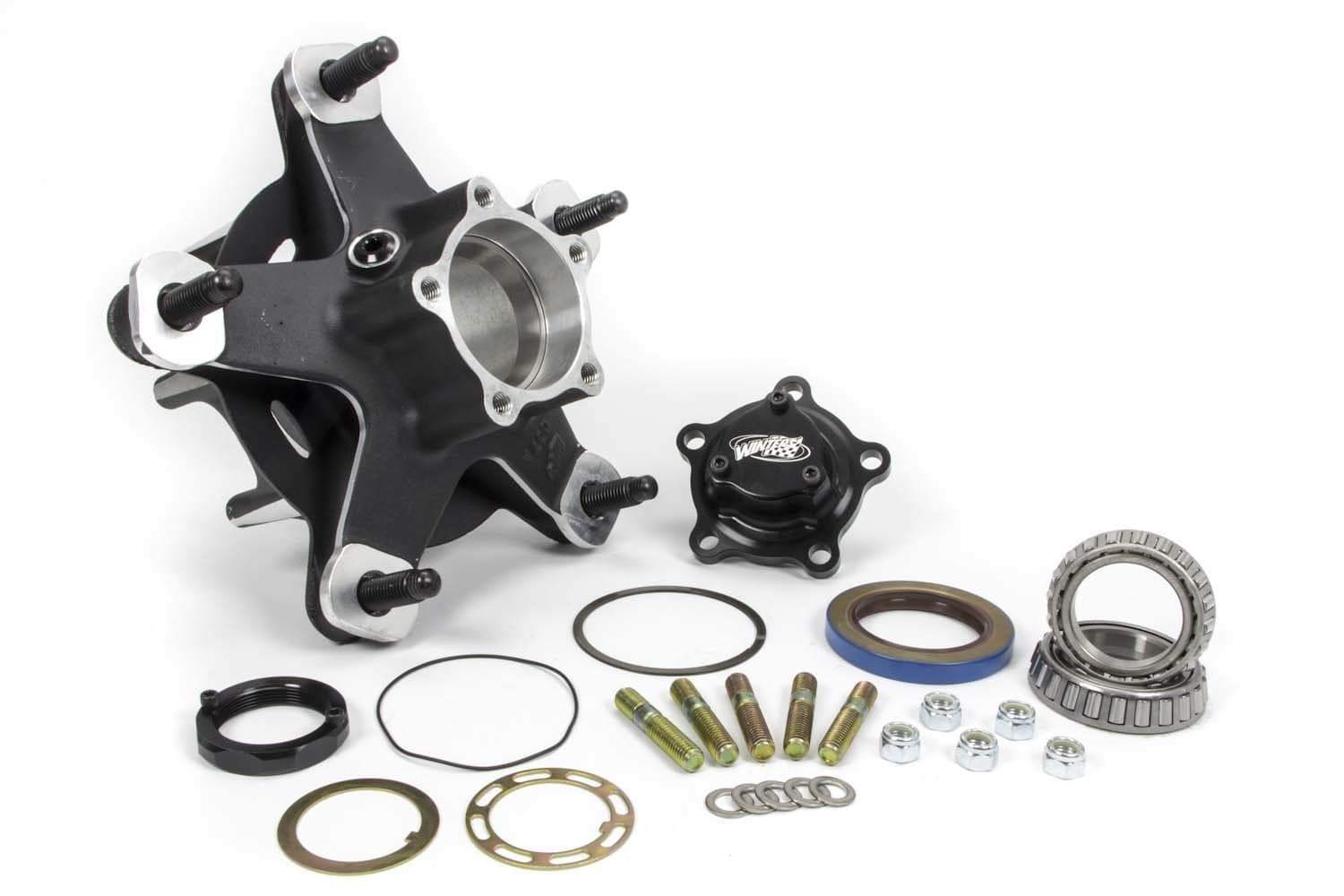 WINTERS ALUMINUM  with Angular Contact Bearings (ACB BALL BEARINGS)-OIL FILLED WIDE 5 HUBS-FRONT