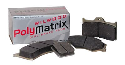 Wilwood PolyMatrix E Compound Brake Pads