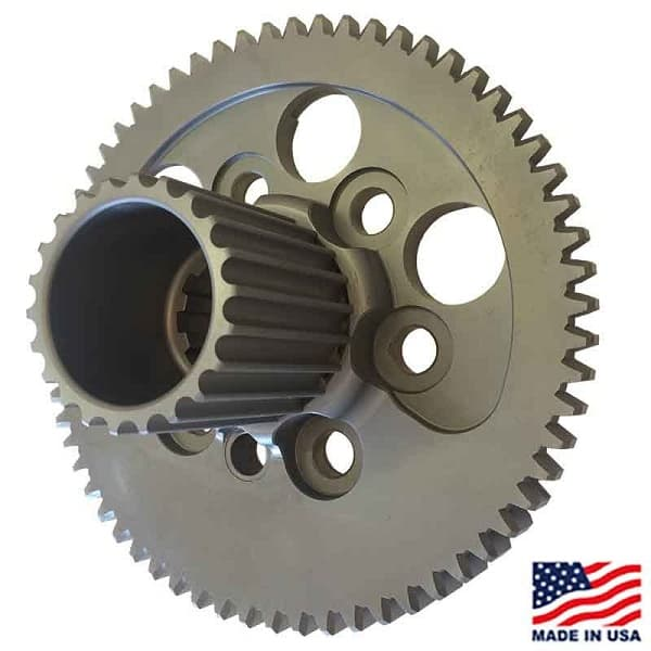 Winters-Maverick 10-Spline Flywheel for GM Crate, Externally Balanced, with HTD Drive