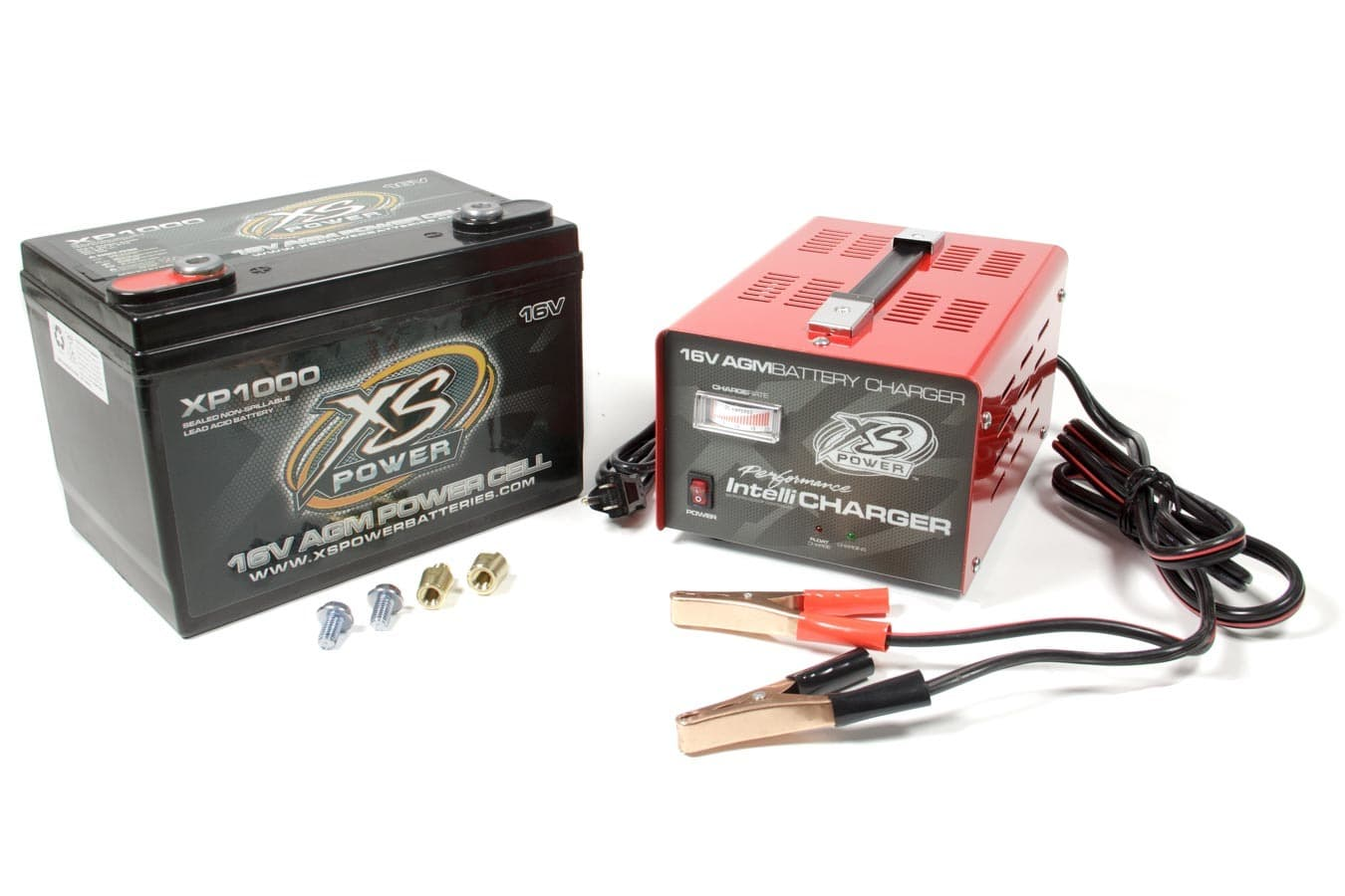 XSPXP1000CK2 XP 1000 AGM Battery And 20 Amp XSP1004 Intellicharger